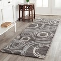 Safavieh Porcello Geometric-pattern Gray Rug (2'4 x 6'7)