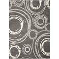Safavieh Porcello Gray Area Rug (5'3 x 7'7)