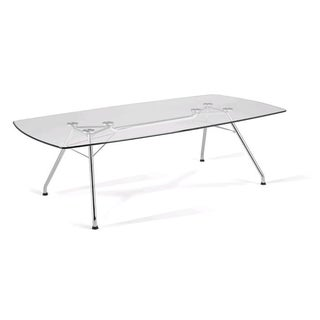 OFM Glass Conference Table (47x94)