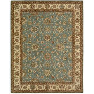 Living Treasures Aqua Rug (8'3 x 11'3)