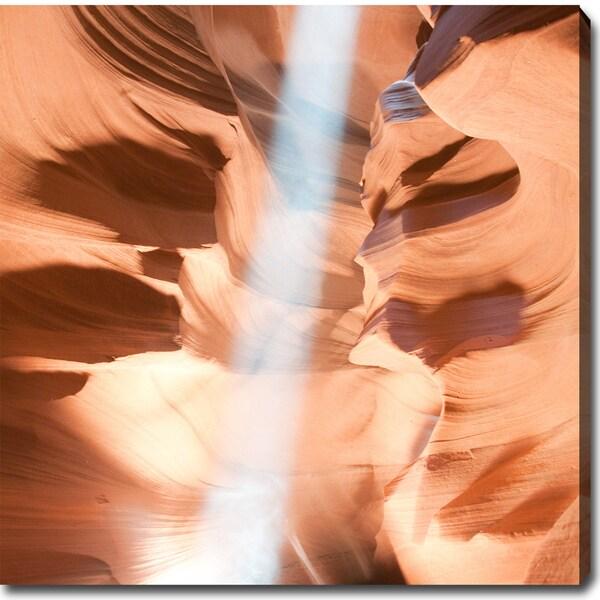 The Amazing Antelope Canyon' Canvas Art