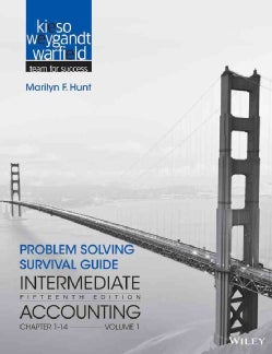 Intermediate Accounting: Problem Solving Survival Guide, Chapters 1-14 (Paperback)