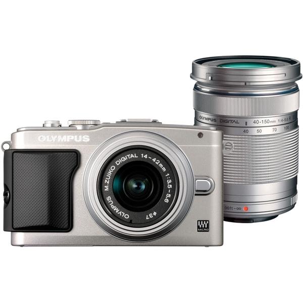 Olympus PEN E-PL5 16.1 Megapixel Mirrorless Camera (Body with Lens Ki