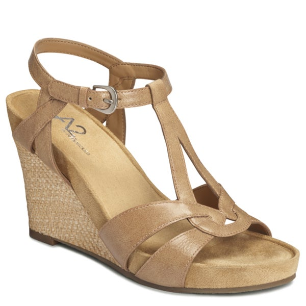 A2 by Aerosoles Women's 'Plushfever' Wedge Sandals