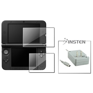 INSTEN Travel Charger/ 2-LCD Screen Protector for Nintendo 3DS XL