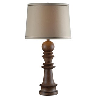 Manicopa Wood-Finish Table Lamp