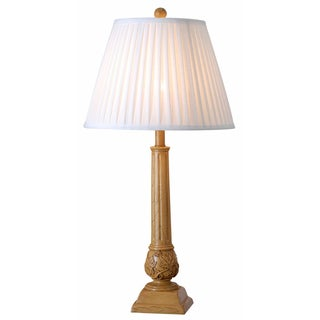 Gavet 30-inch High With Wood Finish Table Lamp