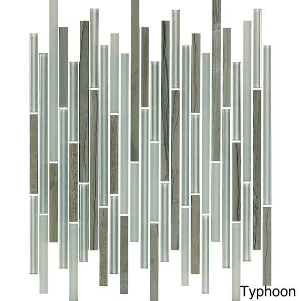 Emrytile Laguna 12x14.8-inch Sheet Wall Tiles (Set of 10)