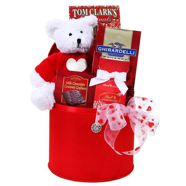 Alder Creek Glamorous Valentine Gift Basket