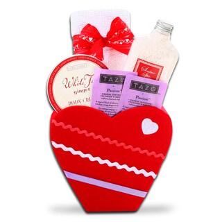Alder Creek Cupid's Heart Gift Basket