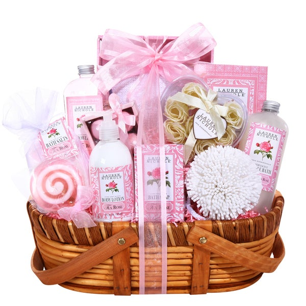 Alder Creek Pink Petals Gift Basket