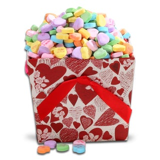 Alder Creek Conversation Hearts Candy Gift Basket