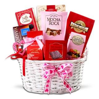 Alder Creek Valentine's Decadence Gift Basket