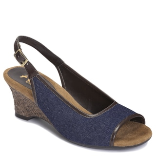 A2 by Aerosoles Women's 'Zentury' Sling-back Sandals in Denim