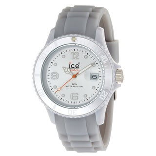 Ice-Watch Women's Sili Collection White Silicone Watch