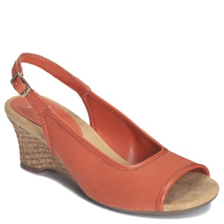 A2 by Aerosoles Women's 'Zentury' Sling-back Sandals in Orange