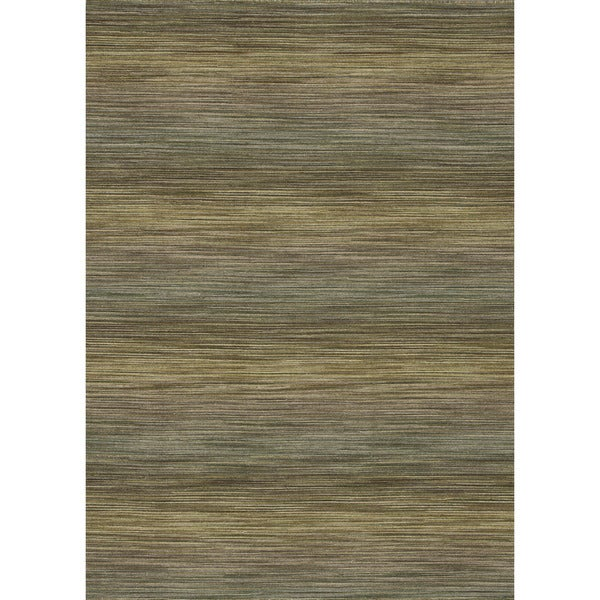 Hand-woven Carter Wool Lawn Rug (5'0 x 7'6)