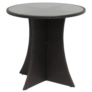 Milano Outdoor Wicker Round Bar Table