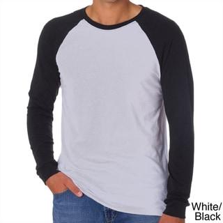 Canvas Men's Long Sleeve Baseball T-shirt
