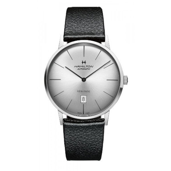 Hamilton Men's American Classic Intra-Matic Silver Dial Watch