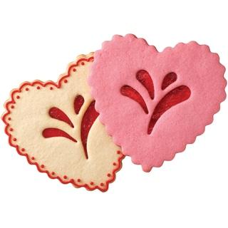 Linzer Giant Heart Cookie Cutter Set