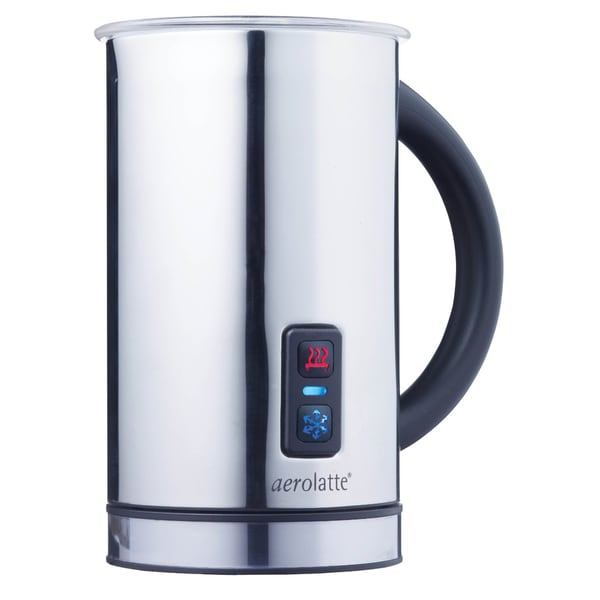 HIC Aerolatte Stainless Steel Compact Hot Frothing Jug