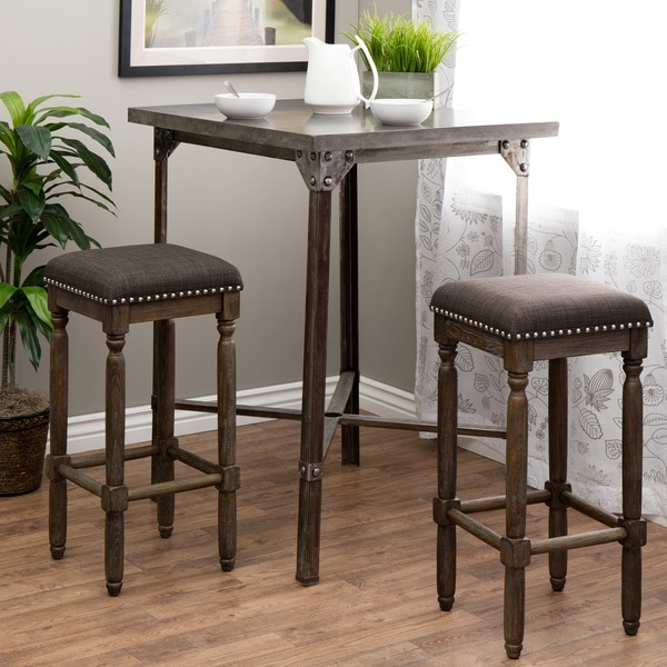Renate Grey Bar Stools Set Of 2