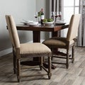 Renate Linen Dining Chairs (Set of 2)