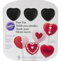 Wilton 9-cavity Cake Pops Heart Pan
