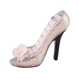 Jacki Design Pretty Princess Peep Toe Shoe Ring Holder