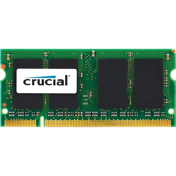 Crucial 4GB, 204-pin SODIMM, DDR3 PC3-10600 memory module