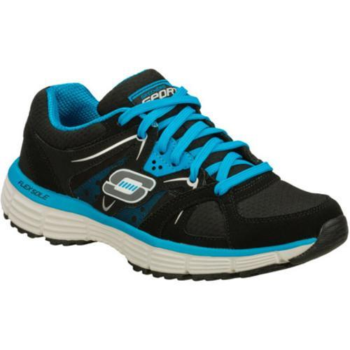 Women's Skechers Agility New Vision Black/Blue