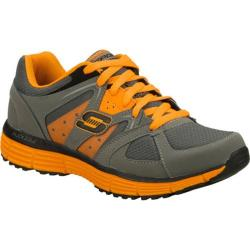 Men's Skechers Agility Outfield Gray/Orange