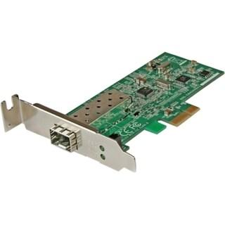 StarTech.com PCI Express 10/100 Mbps Ethernet Fiber SFP PCIe Network