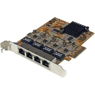 StarTech.com 4 Port PCIe Gigabit Ethernet NIC Network Adapter Card