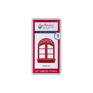 Spellbinders Die D-Lites Window 2
