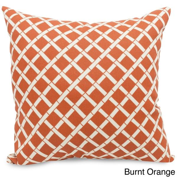 Indoor/Outdoor Bamboo Large Pillow