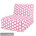 Large Polka Dot Bean Bag Chair Lounger