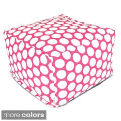 Large Polka Dot Large Ottoman