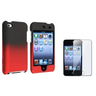 BasAcc Black/ Red Case/ Protector for Apple iPod Touch Generation 4
