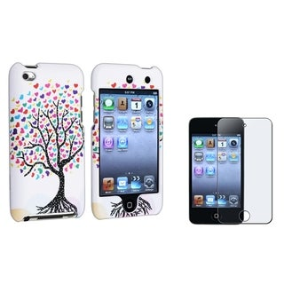 INSTEN iPod Case Cover/ Anti-glare Protector for Apple iPod Touch Generation 4