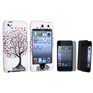BasAcc Case/ Privacy LCD Protector for Apple iPod Touch Generation 4