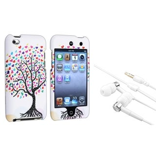 INSTEN Love Tree Heart iPod Case Cover/ Headset for Apple iPod Touch Generation 4