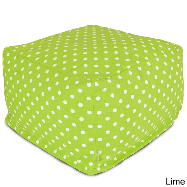 Small Polka Dot Large Ottoman
