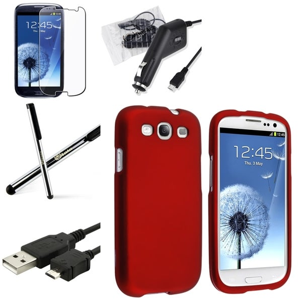 BasAcc Case/ Screen Protector/ Charger/ Stylus for Samsung© Galaxy S3