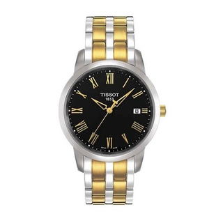 Tissot Men's T033.410.22.053.01 'Classic Dream' Two-tone Stainless Steel Watch