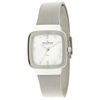 Skagen Women's Mesh Strap Mother of Pearl Dial Watch