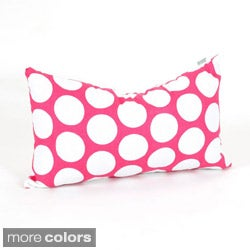 Large Polka Dot Small Pillow