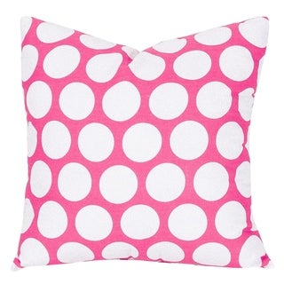 Large Polka Dot Large Pillow