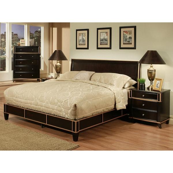 Abbyson Living Metropolitan 4 Piece Bedroom Set Overstock Shopping Big Discounts On Abbyson